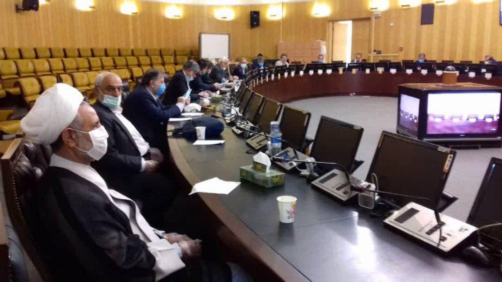 جلسه ی مشترک هیئت رئیسه و روسای کمیسیون های مجلس شورای اسلامی